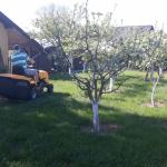 Topoľčany - kosenie parkového trávniku