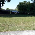 Horné Obdokovce - kosenie parkového trávnika