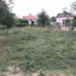 Kamanová - kosenie zaburineného pozemku
